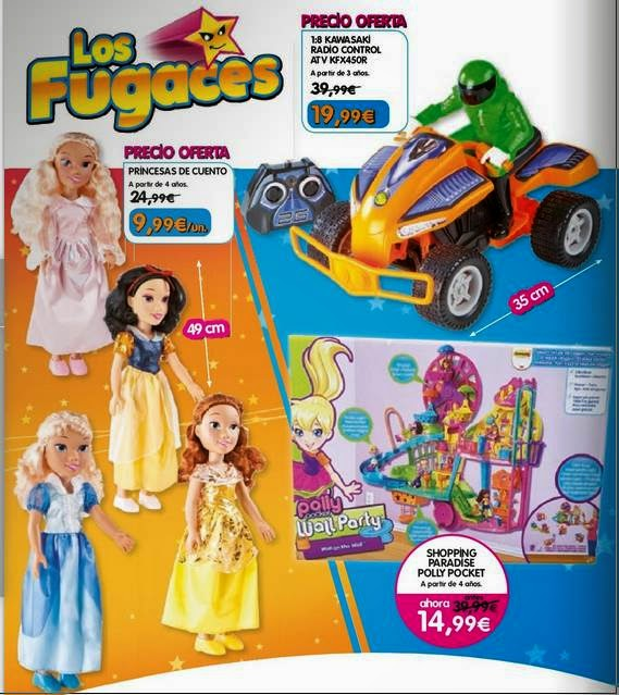 Ofertas Fugaces de Toy Planet 2014
