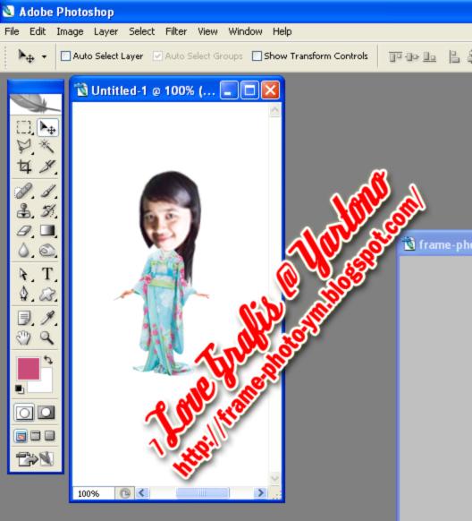 Cara membuat foto dengan bentuk kartun kepala besar dan badan kecil ...