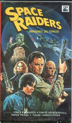 Space raiders (Invasores del espacio)