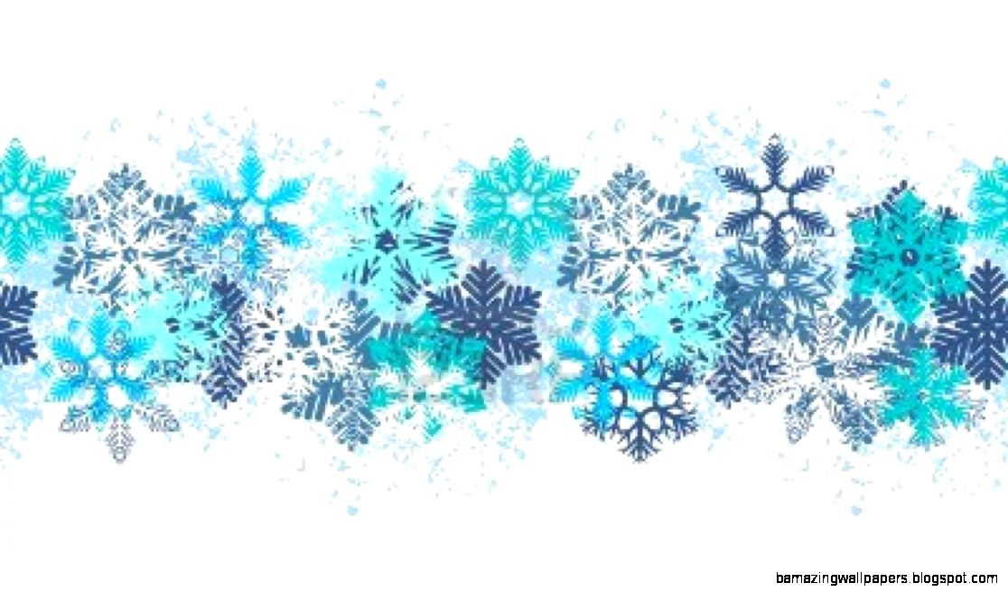 Christmas Snowflakes Borders Clipart   Clipart Kid