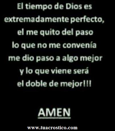 El tiempo de Dios es extremadamente perfecto