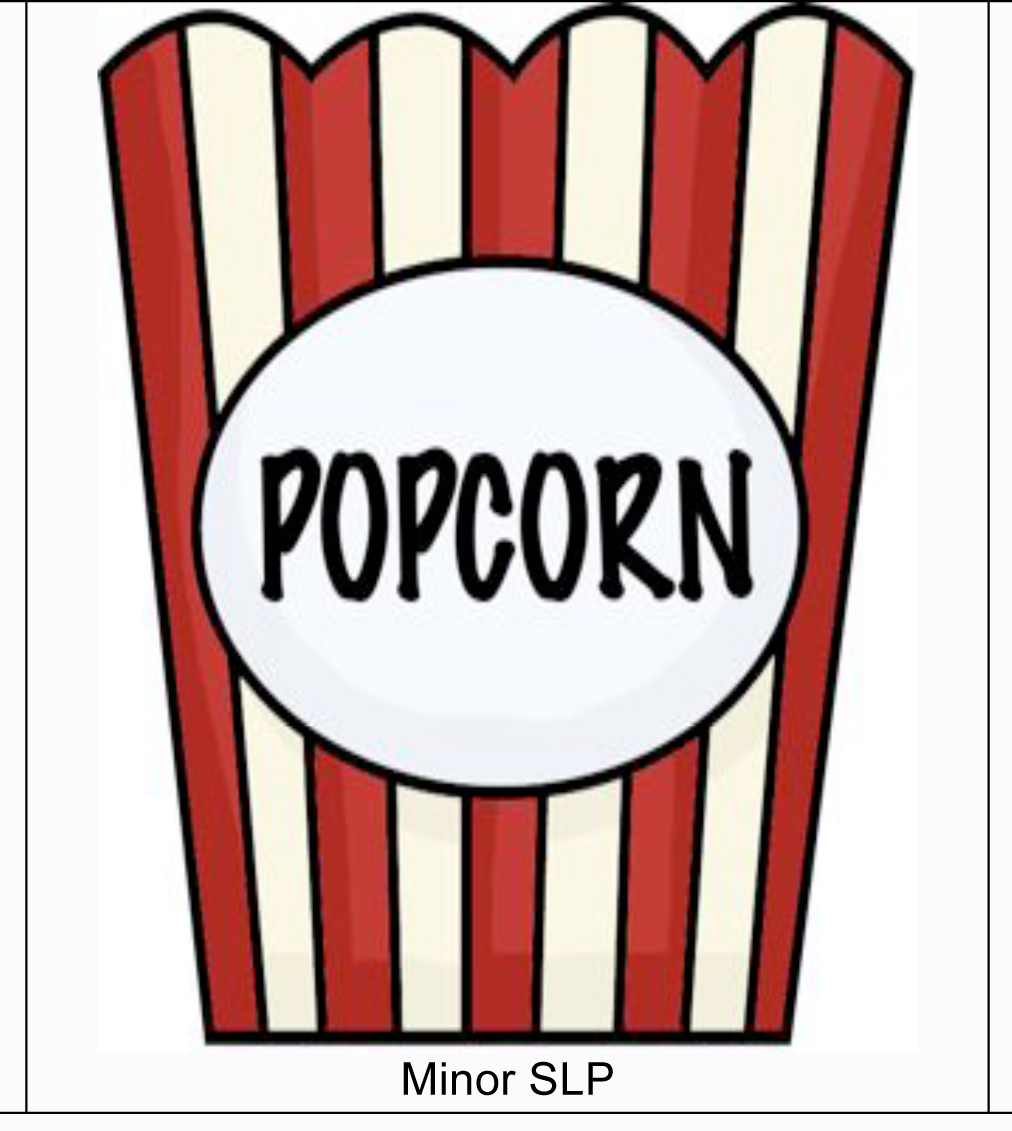 Carrie 39 s speech corner two speechies tangled together for Popcorn container template