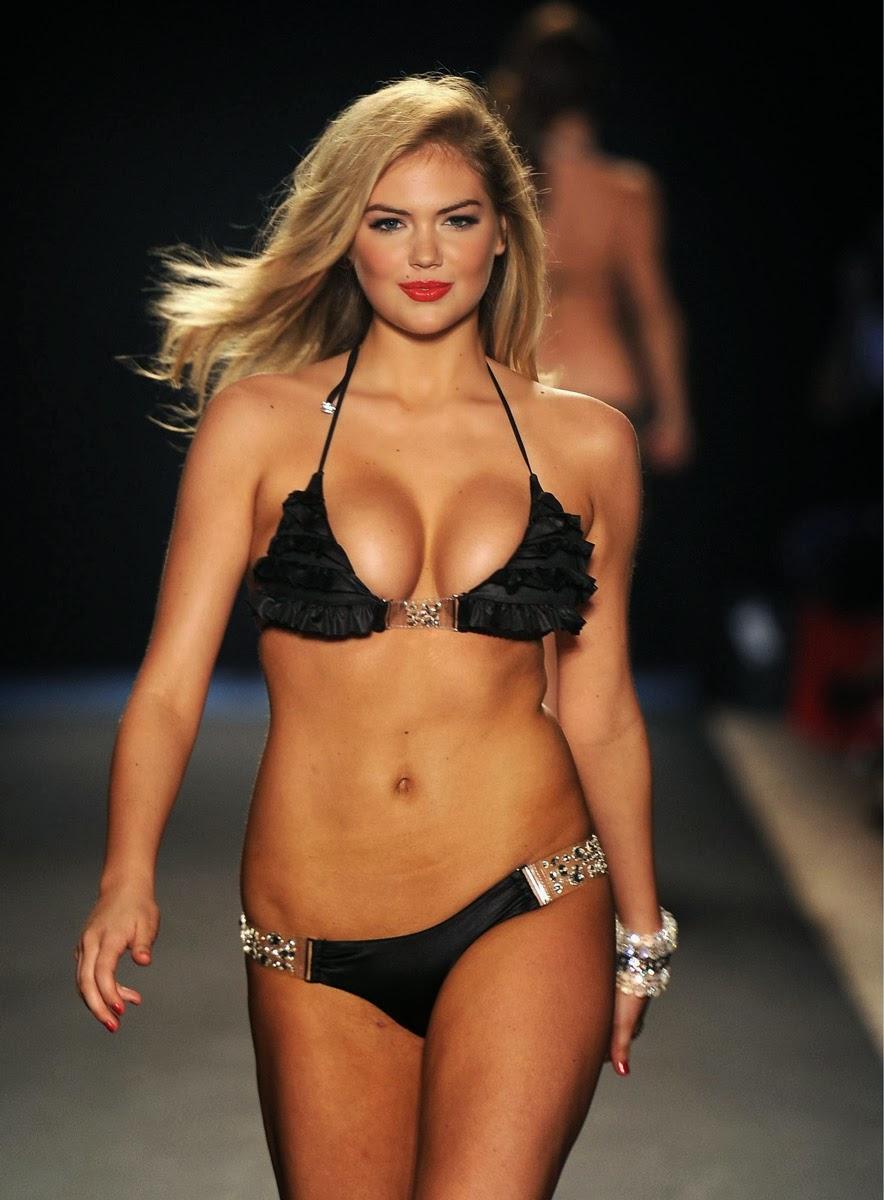 Global Hot Models: Kate Upton Hot Bikini Ramp Pics