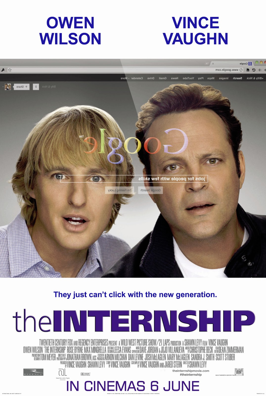 Los Becarios (The Internship) (2013) Online
