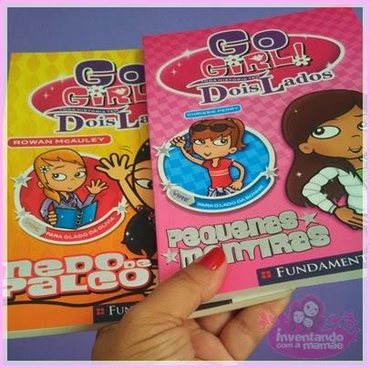 Livros coleção Dois Lados Go Girl