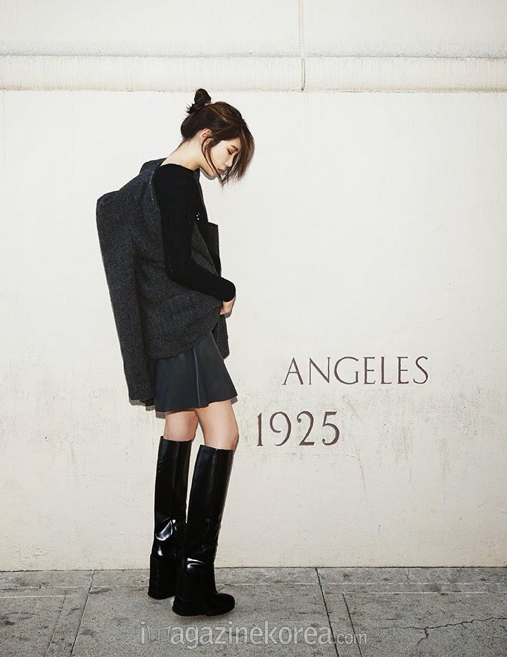 Lee Ji Ah - Harper's Bazaar Magazine November Issue 2014
