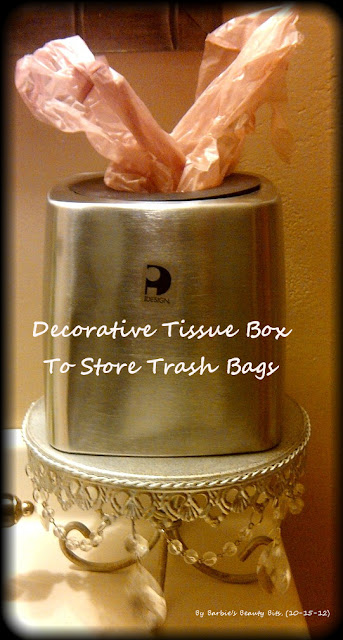 Ways to store grocery bags by barbies beauty bits