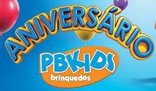 Participar promoção PBKids aniversário
