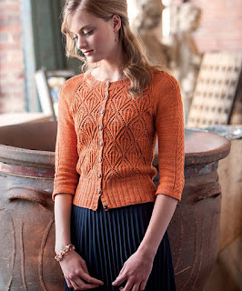 cardigan-tricot-dentelle-flamme-orange