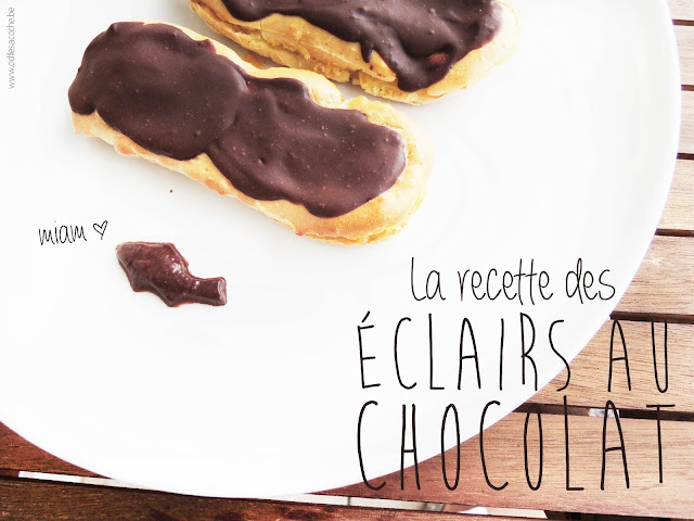 recette des éclairs aux chocolat