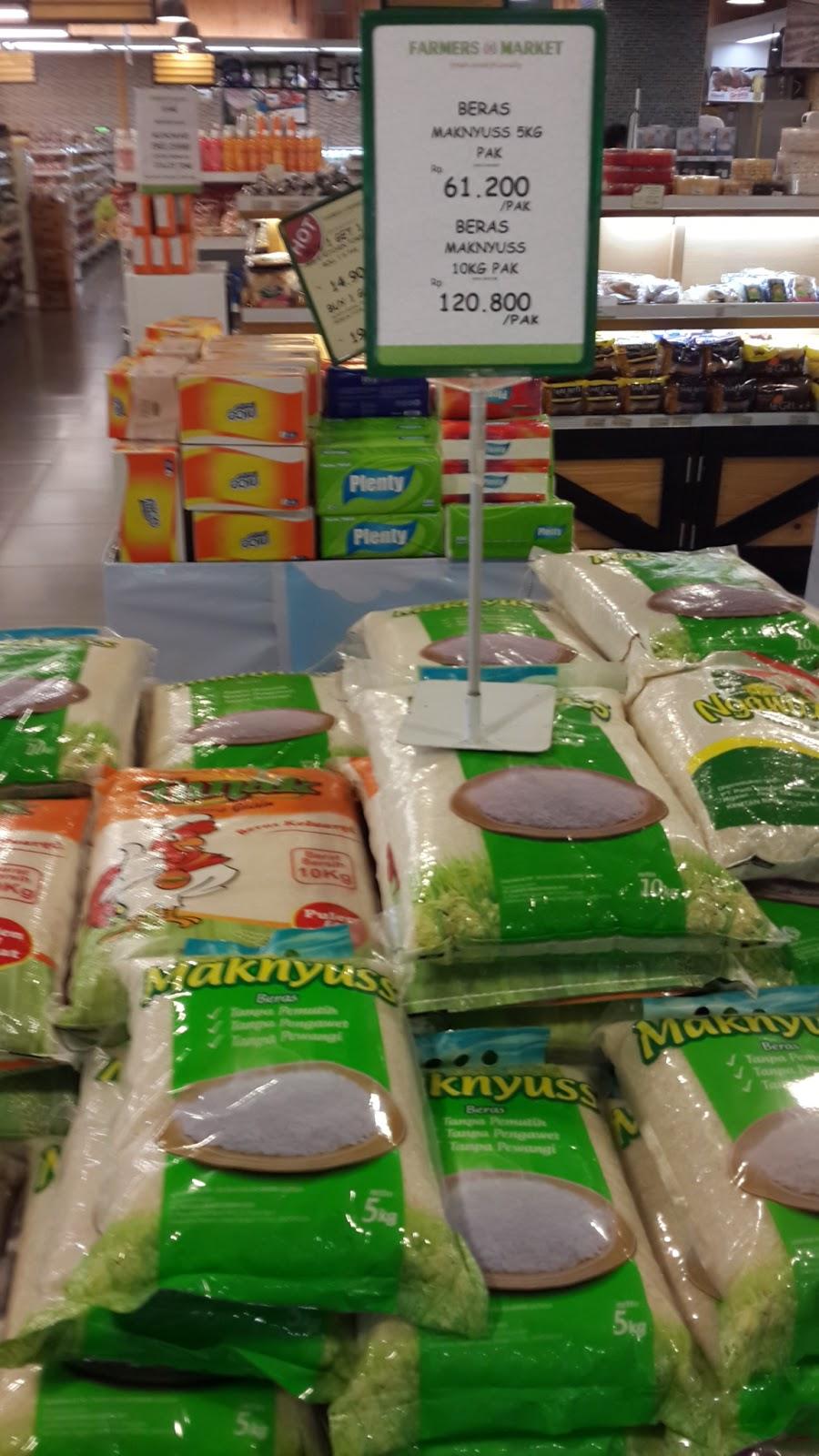 Harga Beras Maknyuss 5 Kg Di Alfamart Sania 5kg Promo Premium Lottemart Lalu Yang Kedua Saya Hunting