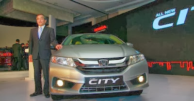 Diesel version of Honda City 2014 has been present