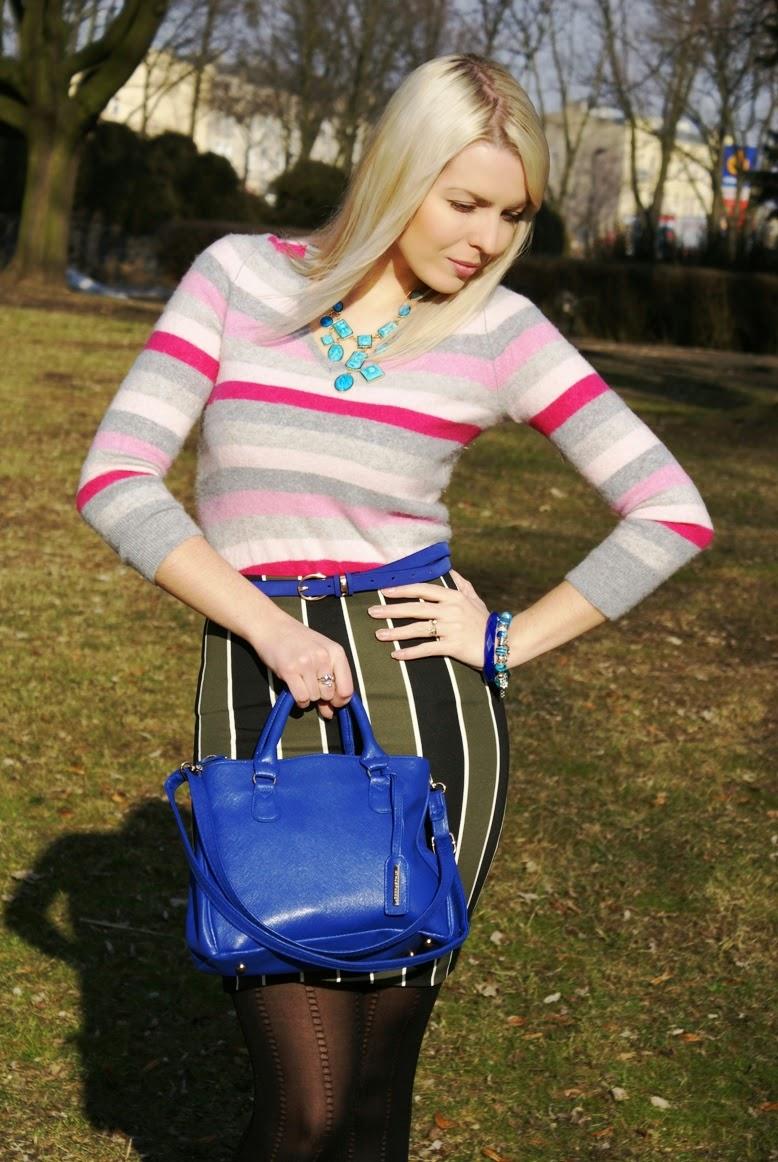 Cobalt Blue Cashmere Sweater