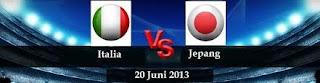 Streaming Italia vs Jepang