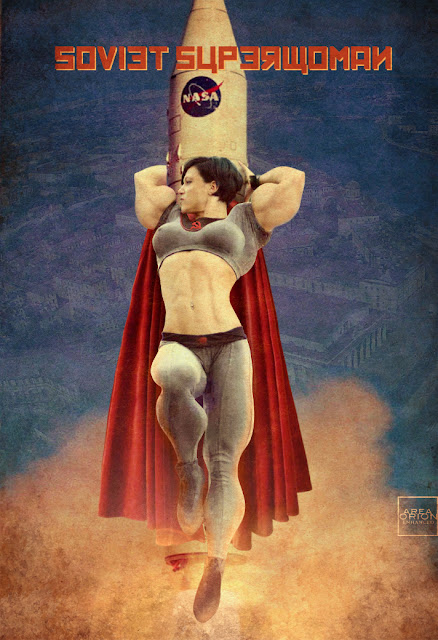 Soviet Superwoman by Area Orion