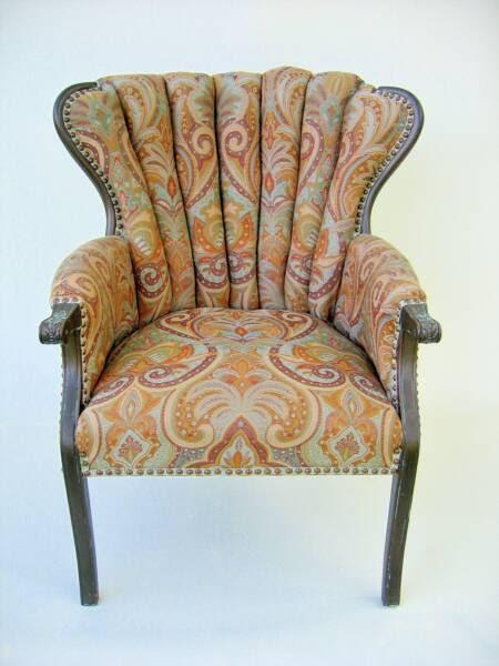 Seekers Bazaar Mid Century Wing Chairs