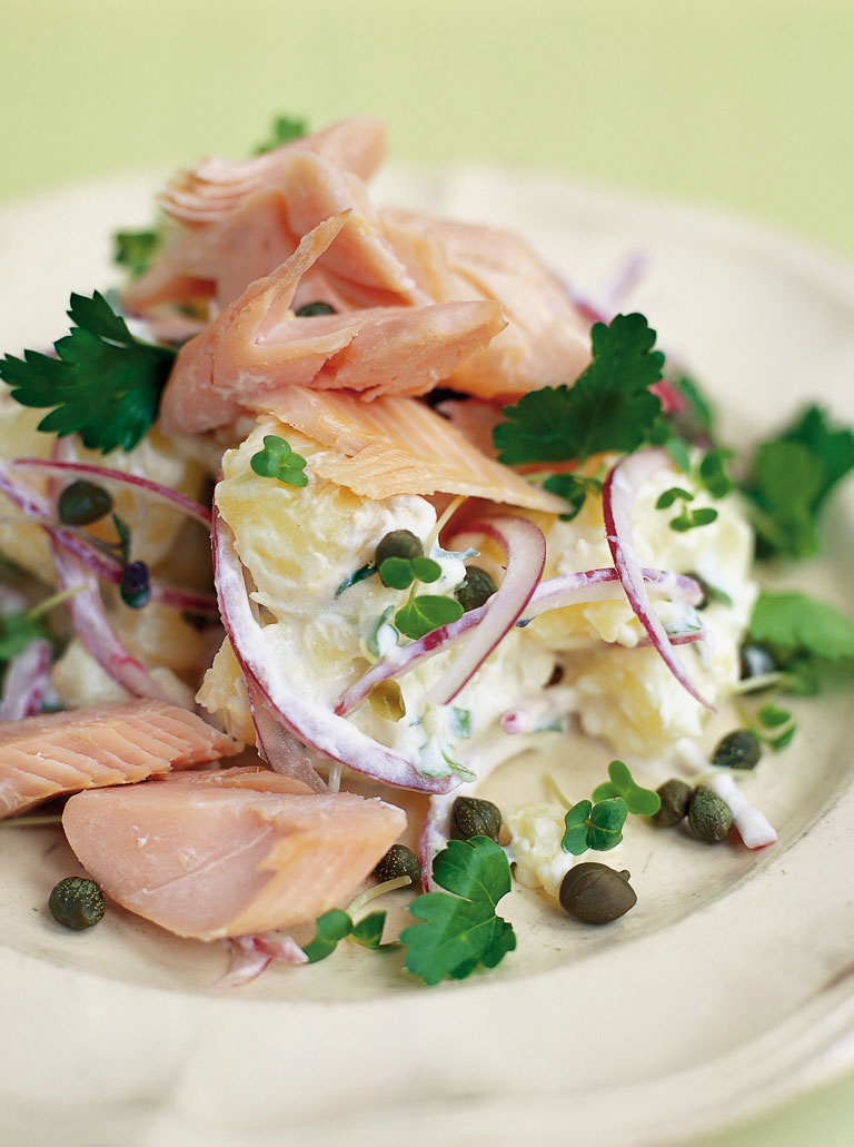 smoked fish and new potatoes are a match made in heaven and at less ...