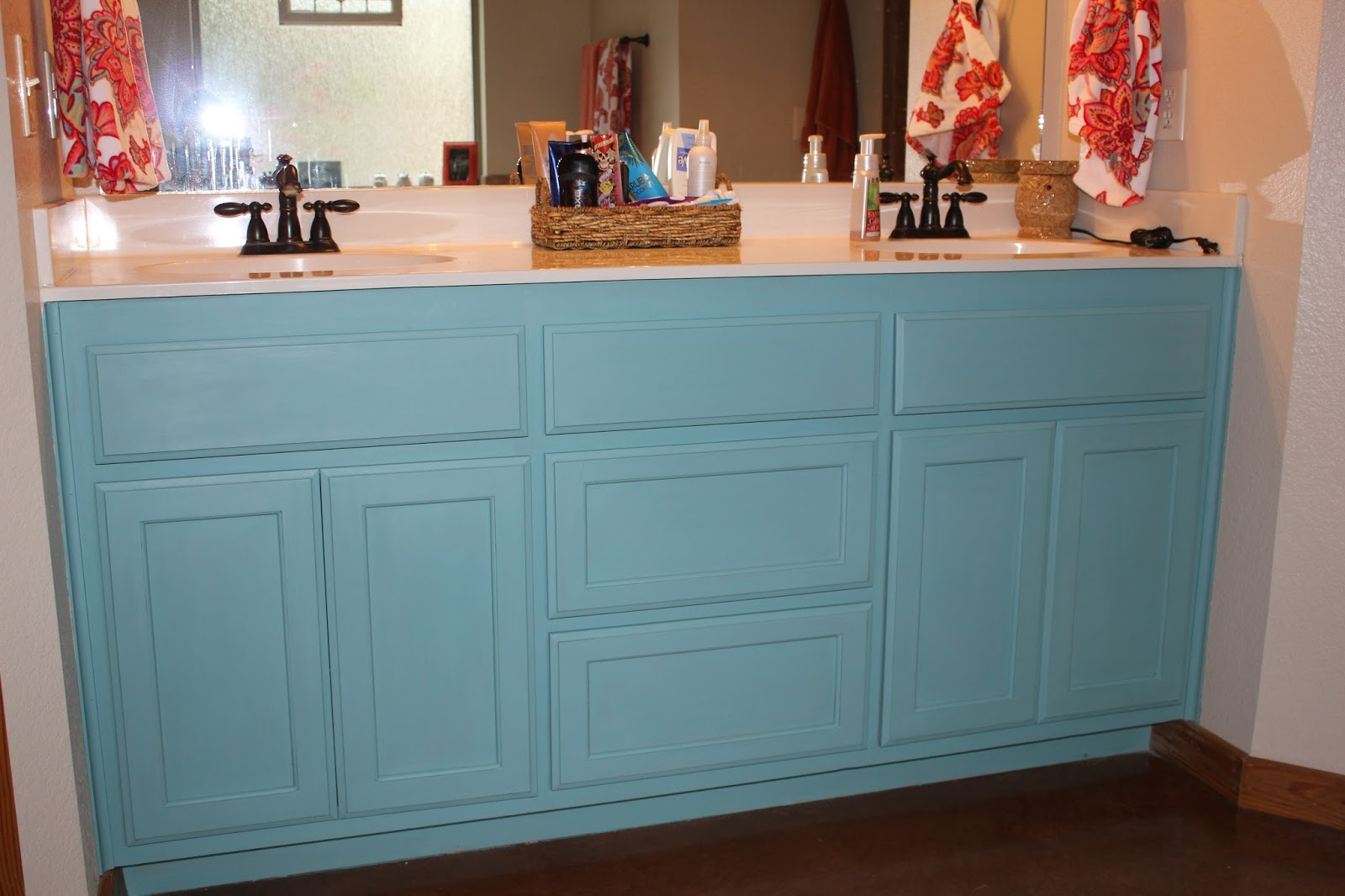 Annie Sloan Paint On Bathroom Cabinets
