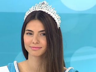 Iliana Papageorgiou represent Greece in Miss Universe 2011