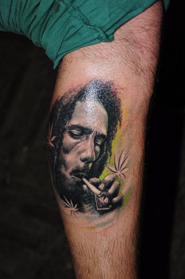 griffe tattoo bob marley tattoo fotos desenhos ForBob Marley Tattoo