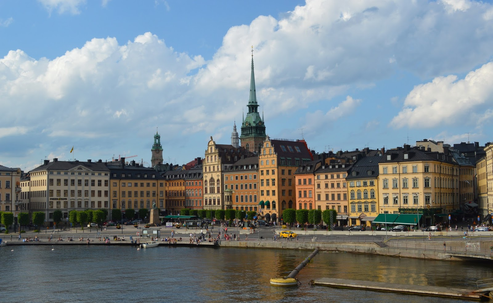 View of central Stockholm
