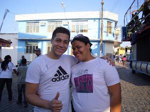 Cantor Islan e Missionária Aryeska - Peniel