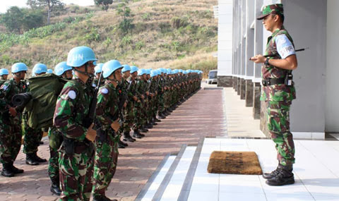 175 Prajurit Satgas Kompi Zeni TNI Konga terima penghargaan medali PBB