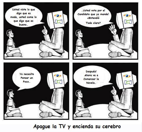 Televisión colombia basura rcn caracol