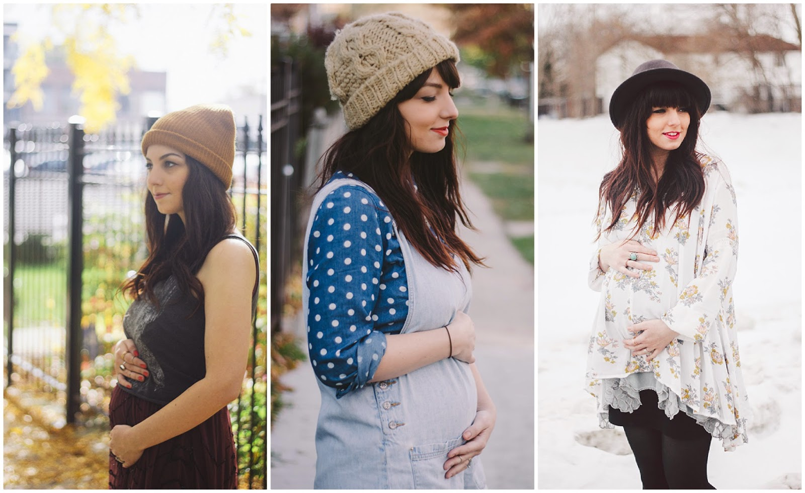 outfit blogger incinte, pregnacy