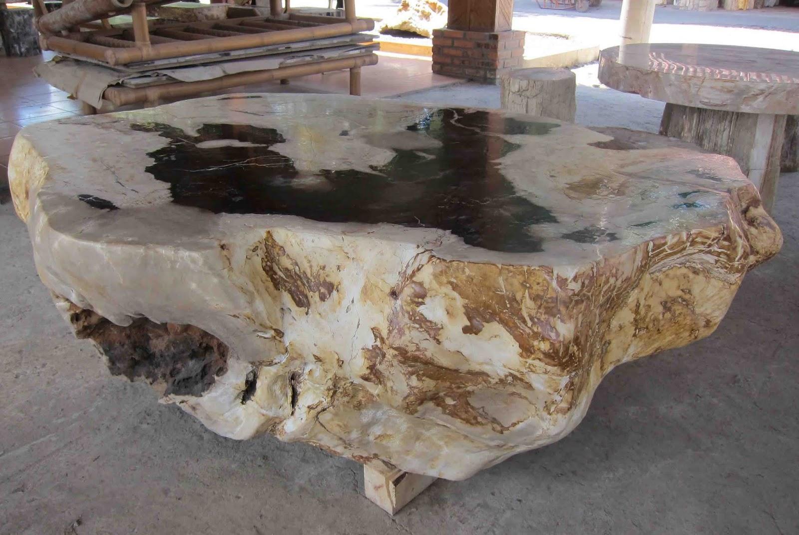 Indogemstone petrified wood table for Petrified wood furniture for sale