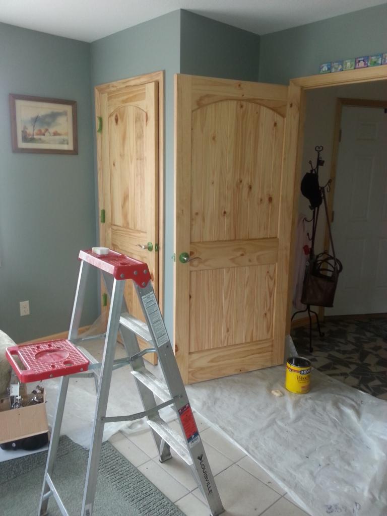 Kims Big House - Finish basement stairs