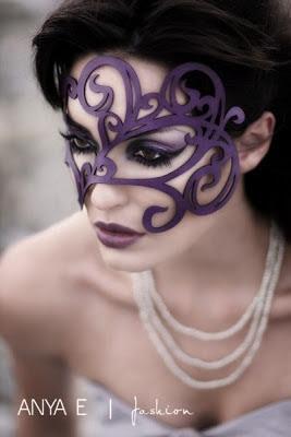 Leather Mask - Halloween