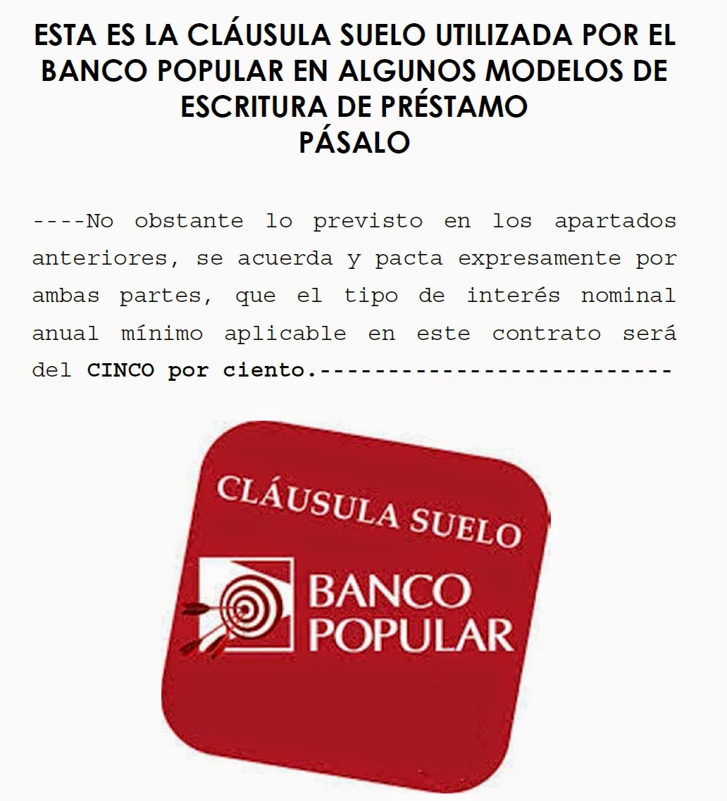 prestamo sobre hipoteca banco popular prestamos online On hipoteca clausula suelo banco popular