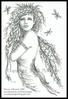 Fairy Tangles February 2012