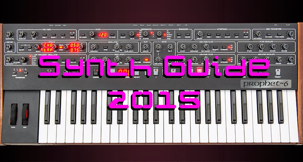 Analog Synth Guide 2015