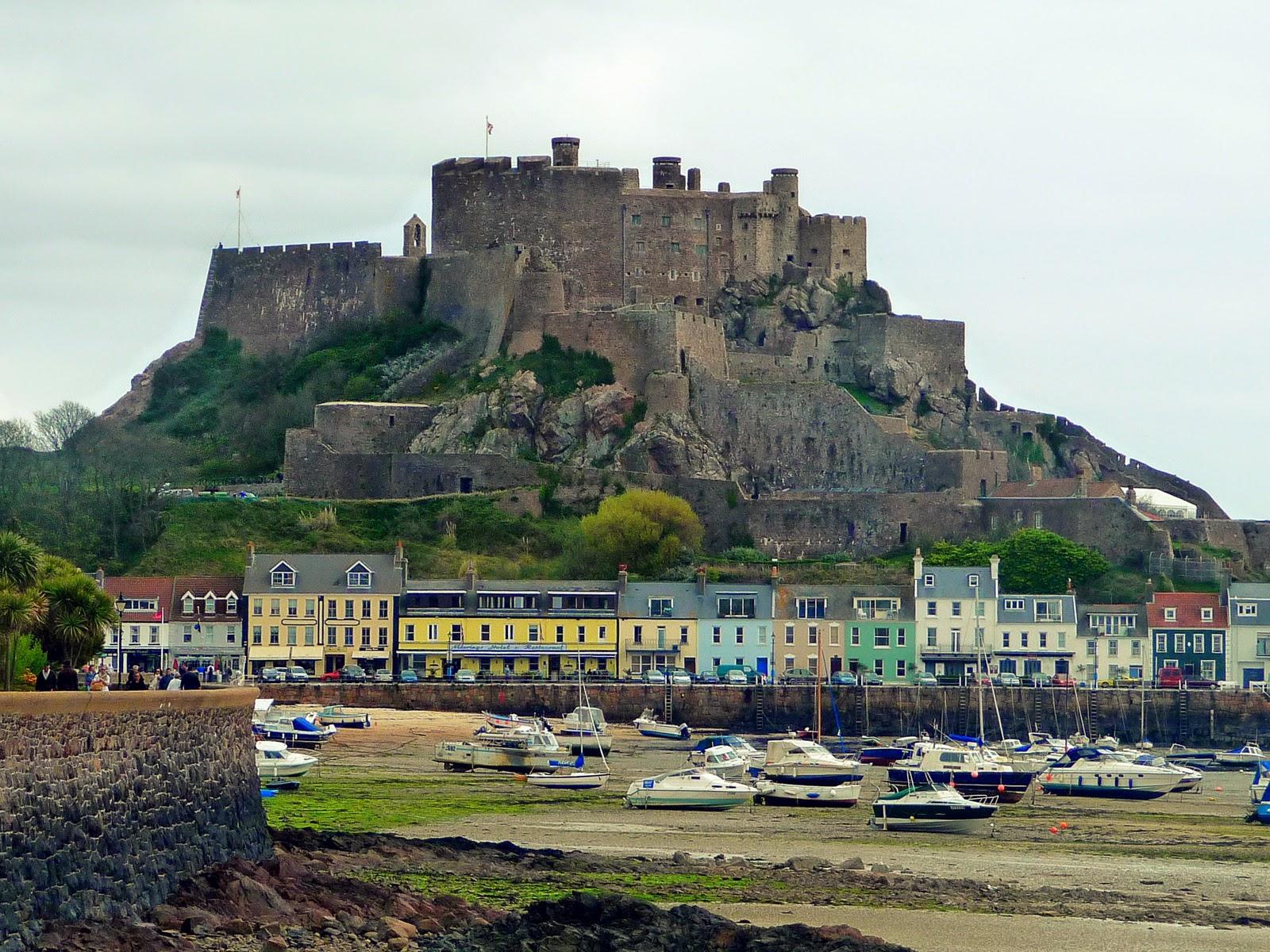 Jersey - Île anglo-normande - Mont Orgueil Castle