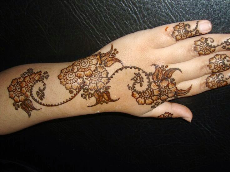 Special Eid Mehndi Designs Wallpapers Free Download