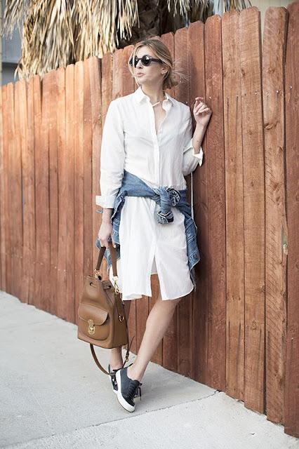 Vestidos camiseiro uma boa opção de look