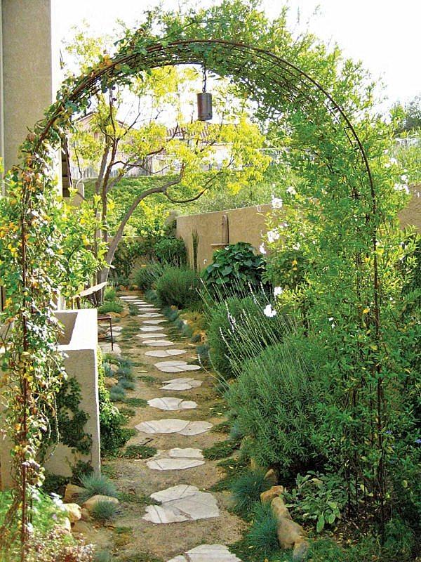 حدائق بمساحات صغيرة