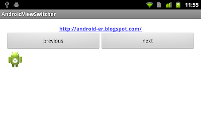 Example of ViewSwitcher