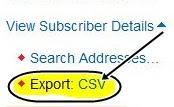 Export+CSV