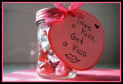 valentine's kiss jar