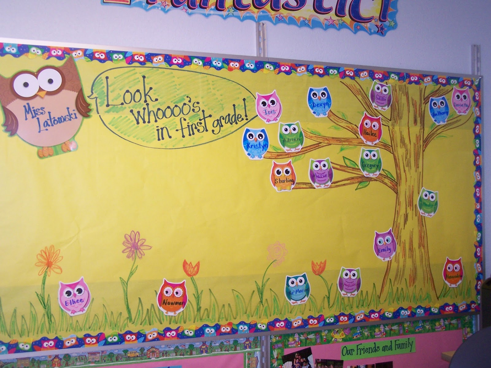 Tales-of-a-First-Grade-Teacher: More Classroom Themes and Bulletin ...