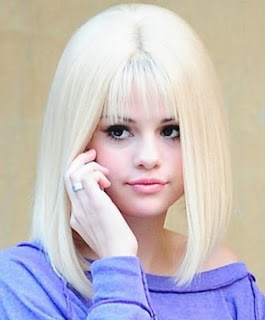 Selenagomezfan Selena Gomez With Blonde Hair