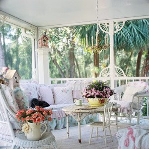 Shabby chic conservatory i heart shabby chic for Romantic outdoor decorating ideas