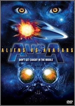 Modelo Capa Download   Aliens vs. Avatars   DVDRip AVi (2011)