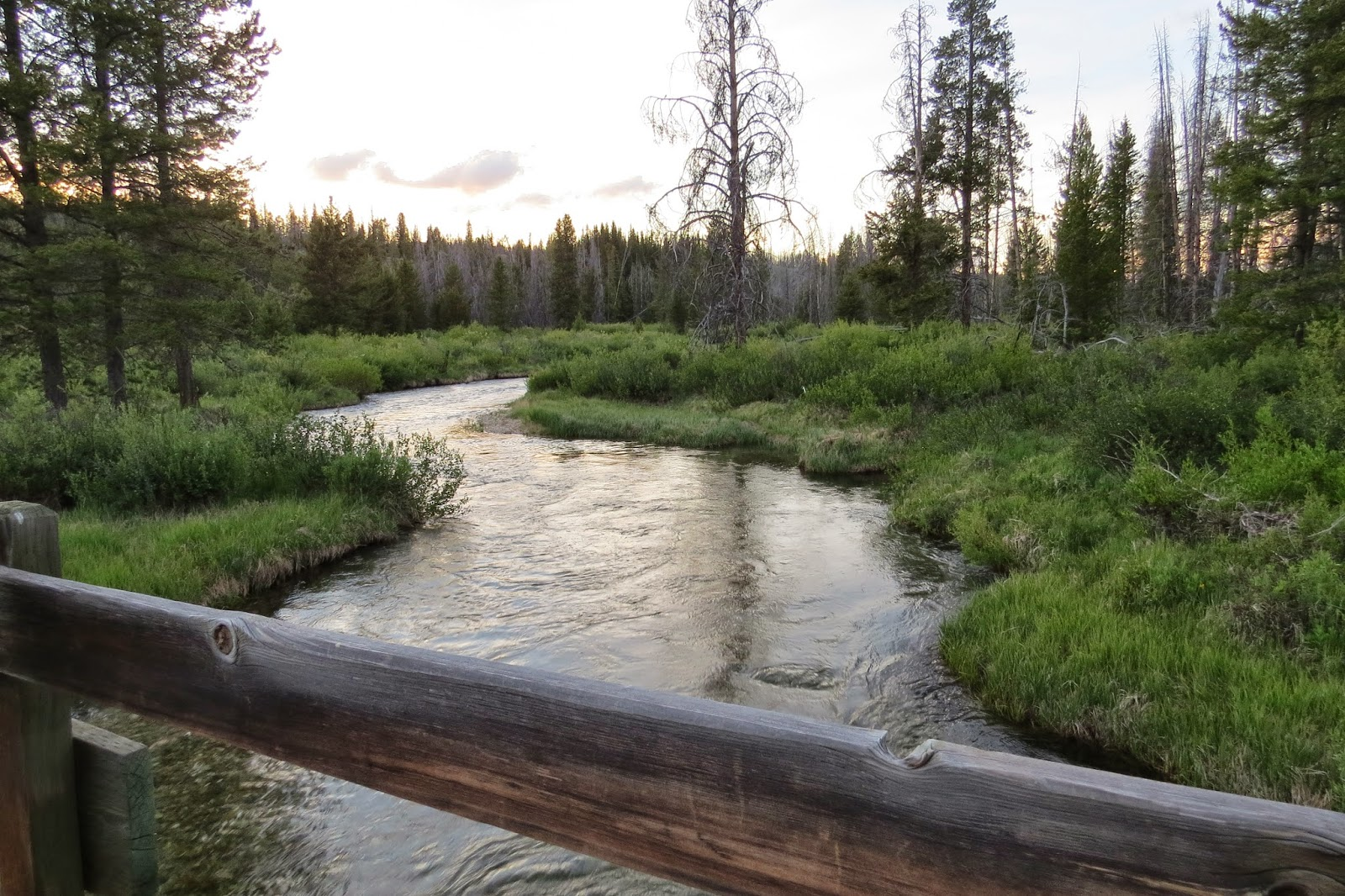 Redfish Lake hiking trails in Stanley, Idaho, Fishhook Creek Interpretive Trail