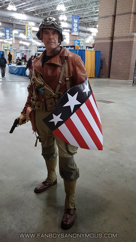 ACBC Captain America costume