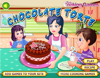 chocolate cake cooking games