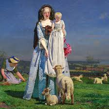 The Pretty Baa-Lambs by Ford Maddox Brown